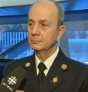 Toronto Fire Chief Jim Sales