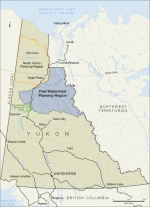 Peel watershed map
