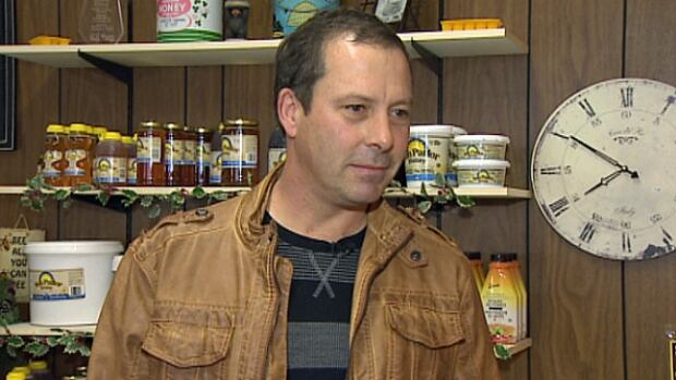 Congdon has now lost half of his 60 million bees, produces 80 per cent less honey and has one less customer.