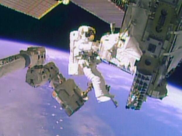 Mike Hopkinds spacewalk