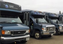 HAGI Transit buses