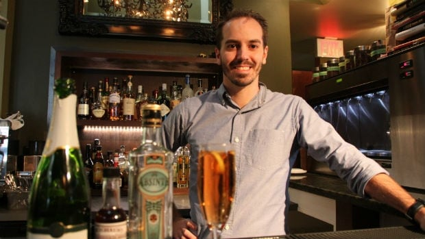 Dylan Wallace is the bartender at Segovia Restaurant in Winnipeg.