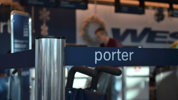 Several Porter Airlines flights into and out of Thunder Bay airport were delayed or cancelled.