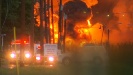 Lac-Megantic fire