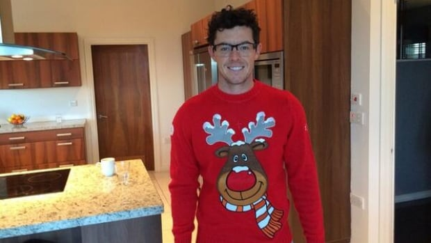 """Hundreds of athletes from different disciplines took to Twitter Wednesday to wish fans a Merry Christmas and show off their holiday spirit. That list included star golfer Rory McIlroy, who tweeted: """"Rudolph and I wish you all a very Merry Christmas!!!"""""""