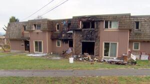 Pandora Street Burnaby fire complex