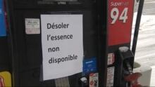 Gas Shortage Ottawa Gatineau