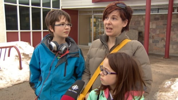 Kristi MacKenzie says her mother was sent to the ICU during the H1N1 outbreak in 2009. The return of the disease as this year's dominant stain of flu convinced her family to visit the Bonnie Doon clinic. (CBC)