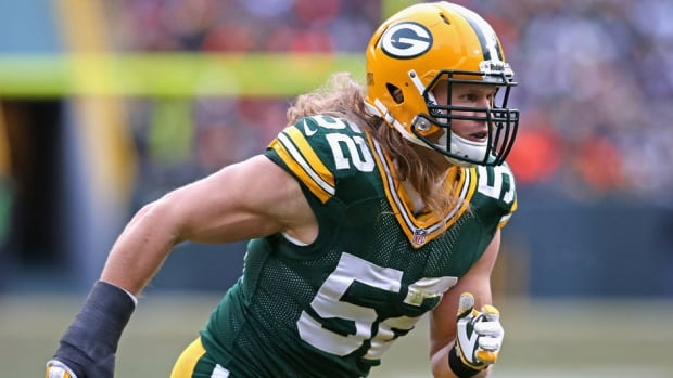 Green Bay Packers linebacker Clay Matthews missed four games earlier in the season with the thumb injury.