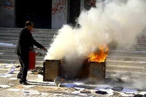 Egypt Cairo university clashes