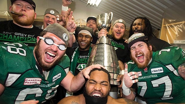 The Saskatchewan Roughriders won the 2013 Grey Cup in November after defeating the Hamilton Tiger Cats in Regina.