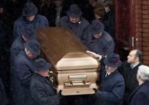 rizzuto father funeral