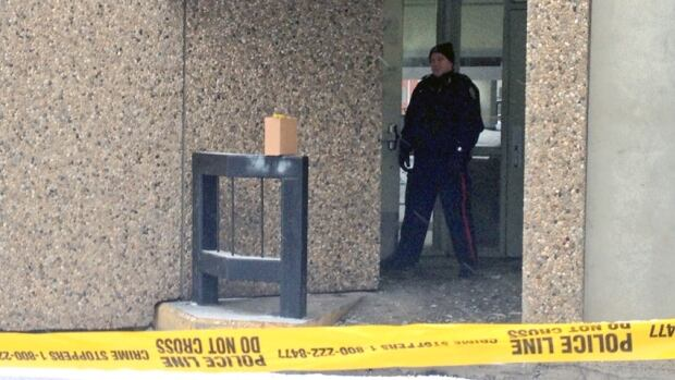 Edmonton police are investigating the scene of a suspicious death in the Edmonton City Centre West Parkade.
