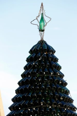 Lithuania Bottled Tree