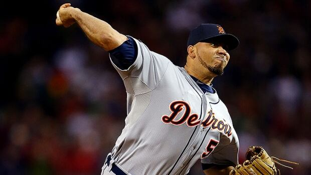 Padres reliever Joaquin Benoit had 24 saves in 26 chances with Detroit last season.