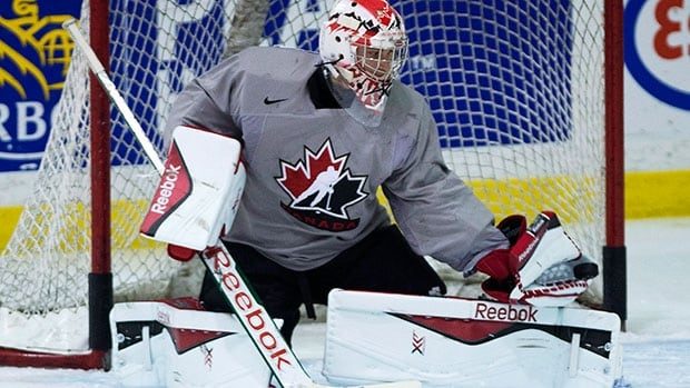 Halifax goalie Zach Fucale will get his first start when Canada faces Slovakia in its third group stage game on Monday at the world junior hockey championship.