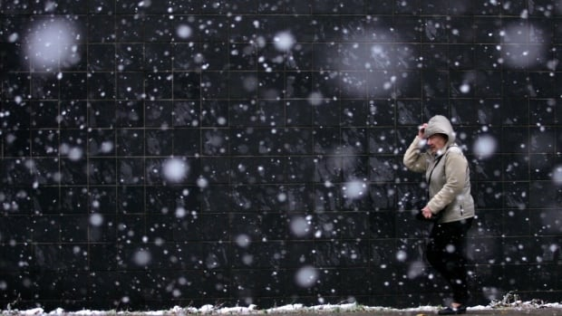 """'Working outside in the cold air there is still the possibility that you can get frostbite on a nice cold day with light winds,"""" said Blair Morrow, an Environment Canada meteorologist"""