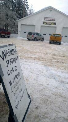 Warming centre