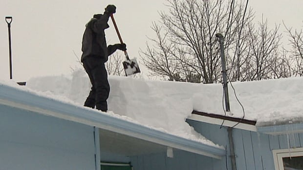 Your roof may be designed to withstand the snow load.