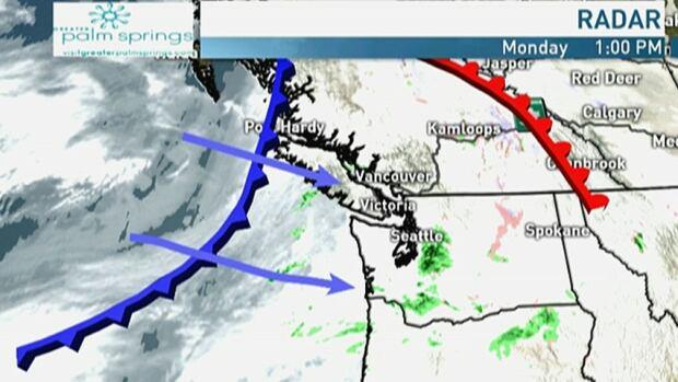 Light rain, warm temperatures for Metro Vancouver