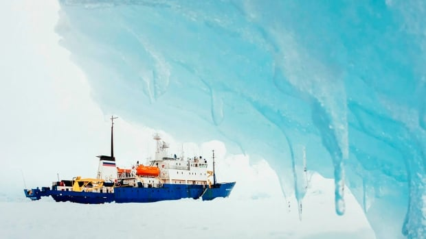 The MV Akademik Shokalskiy, with 74 people aboard, became stranded in ice in Antarctica on Christmas Eve.  On Tuesday, a helicopter will attempt to reach the passengers and airlift them to safety.