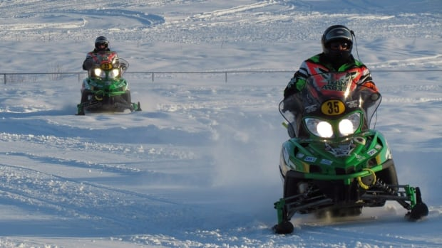 The Cain's Quest snowmobile endurance race is held each winter through Labrador.