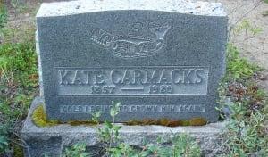 Kate Carmacks's grave