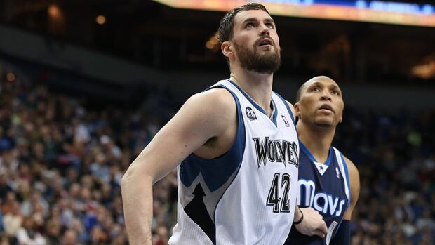 Kevin Love, left, just finished the second year of a four-year deal that