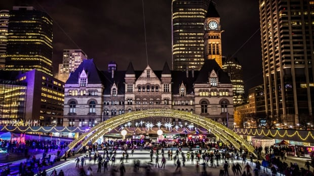 Nathan Phillips Square will host a New Year's Eve celebration starting at 8 p.m. tonight. The event will feature skating, live music and an eight-minute fireworks display after the stroke of midnight.