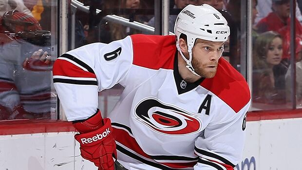 Tim Gleason has one assist in 17 games with the Carolina Hurricanes this season.