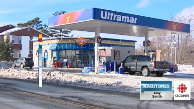 Drivers filling up at this Ultramar on Monday received a nasty surprise.