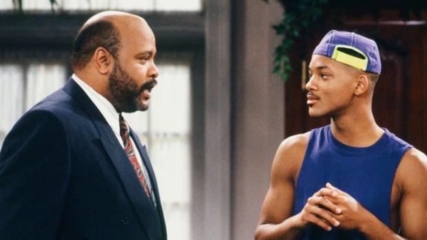 James Avery, left, played Will Smith's uncle on the popular TV series The Fresh Prince of Bel-Air.