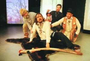 Allan Hayton as King Lear