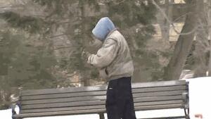 Homeless in New Brunswick in winter