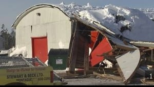 Stewart & Beck Home Hardware roof collapse