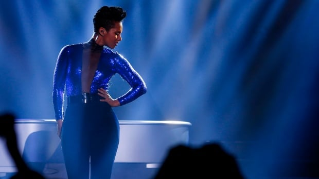 American singer Alicia Keys performs in Shanghai, China on Nov. 20. She will cease her role as global creative director for BlackBerry at the end of January.