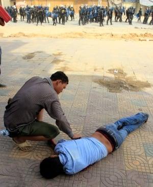 Cambodia Labor Unrest