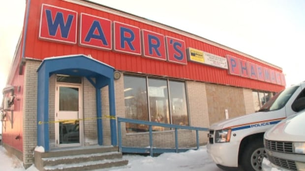 Warr's Pharmacy in Happy Valley-Goose Bay was evacuated on Thursday, after receiving a threatening call about explosives.