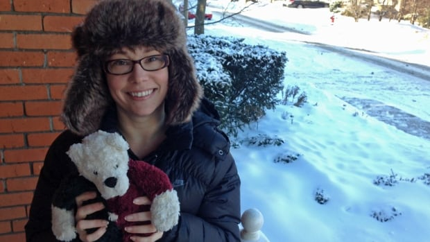 The teddy bear that belongs to Roslyn Allen's 14-year-old son was taken away at an airport on Monday. Named Teddy, the fluffy bear was given by the boy's grandmother who died of brain cancer three years ago.