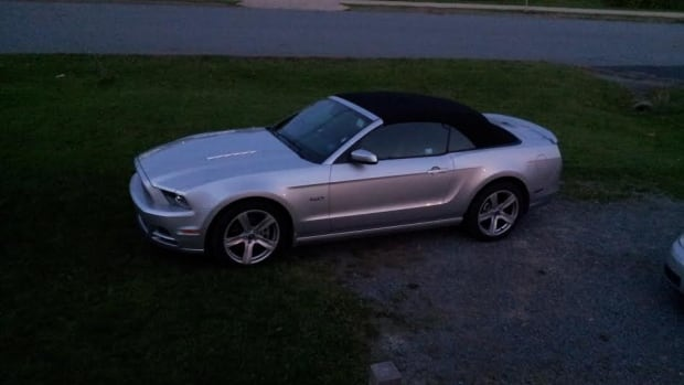 This Mustang convertible was stolen from the parking lot of a Dartmouth, N.S., Enterprise rental shop in October.