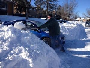 nova scotia snow shovel
