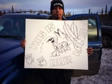 Lubicon Protest
