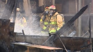 Burnaby firefighters fight old foundry fire - 5