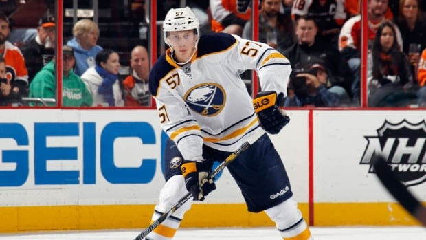Buffalo Sabres defenceman Tyler Myers