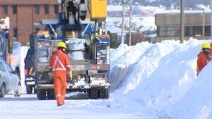 Newfoundland Power crews
