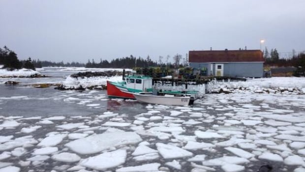 The fisherman lived alone in Stonehurst where he was a well known fisherman. Pictured is his green, white and red boat.