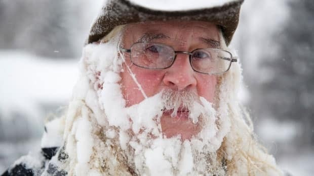 Polar vortex brings near-record cold