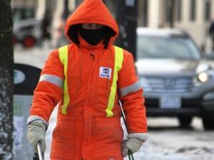 City worker
