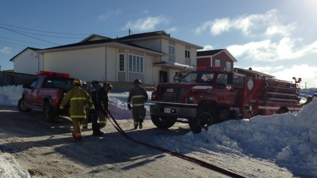 Firefighters were at the scene of a house fire in Bonavista on Monday morning, which killed a married couple in their 50s.