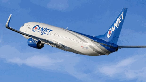 CanJet's president, Stephen Rowe, says the company will be suspending flight operations effective immediately.